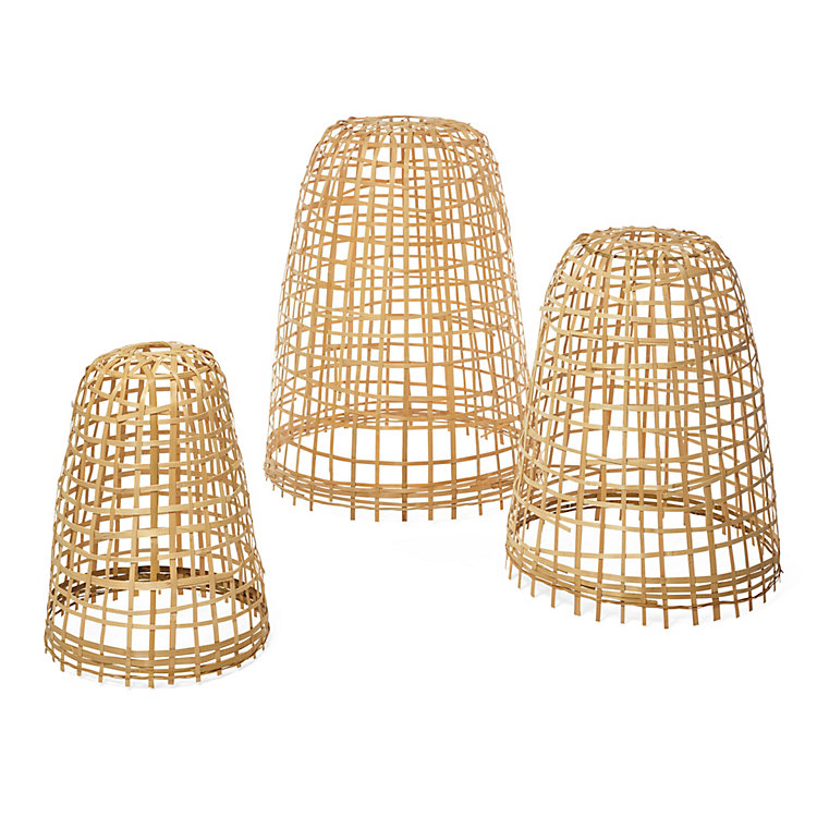 Protective Bamboo Covers for Plants