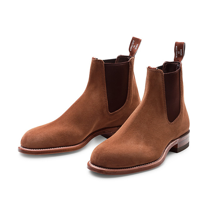R. M. Williams Chelsea Boot Herren, Mittelbraun | Manufactum