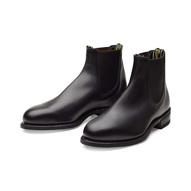 R. M. Williams Chelsea Boot Herren, Schwarz
