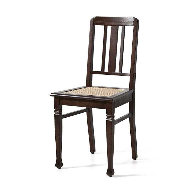 Rabenau Chair, Natural colored wickerwork seat