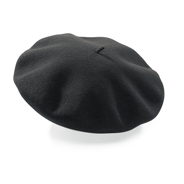 Real Basque Beret Black