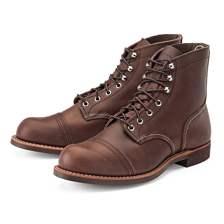 Red Wing 8111 Iron Ranger Braun