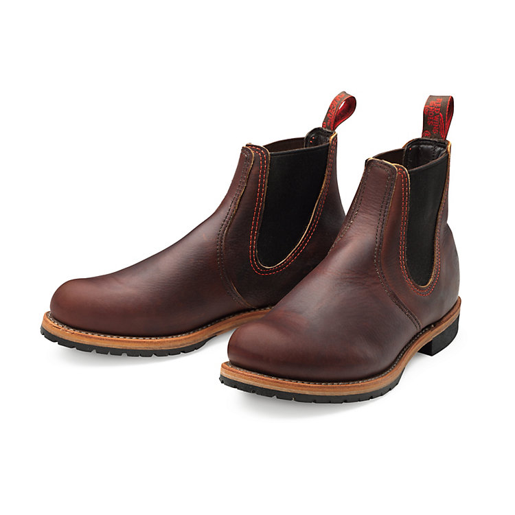 Red Wing Chelsea Rancher Braun