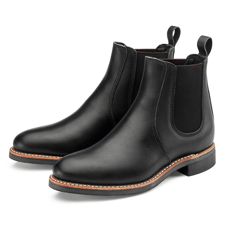 Red Wing Chelsea Rancher Damen Schwarz