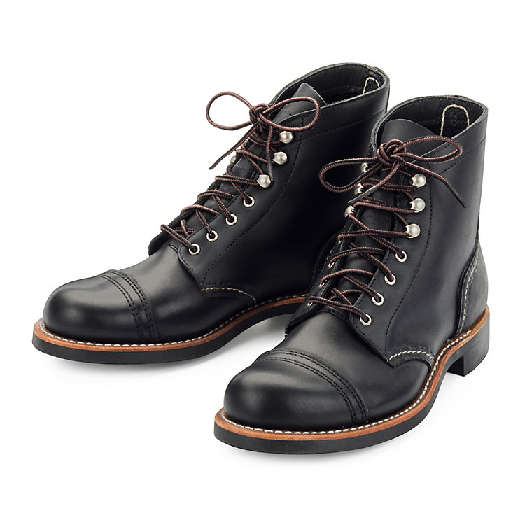 Red Wing Damen-Iron Ranger Schwarz