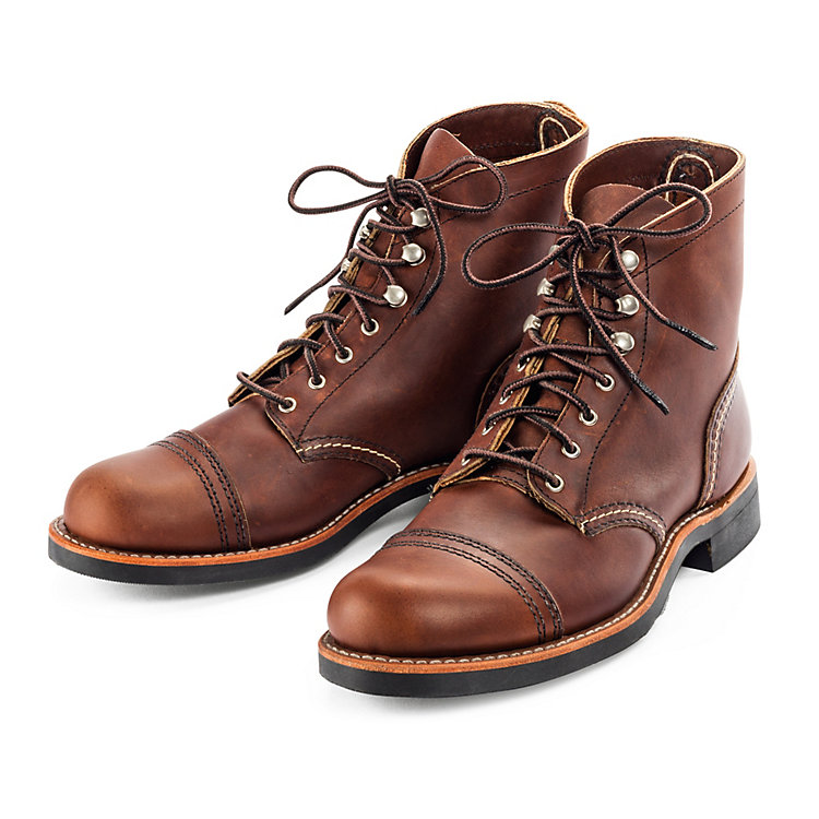 Red Wing Damen-Iron Ranger Braun
