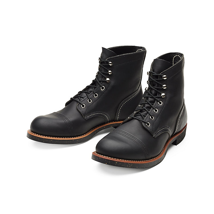 Red Wing Iron Ranger Schwarz