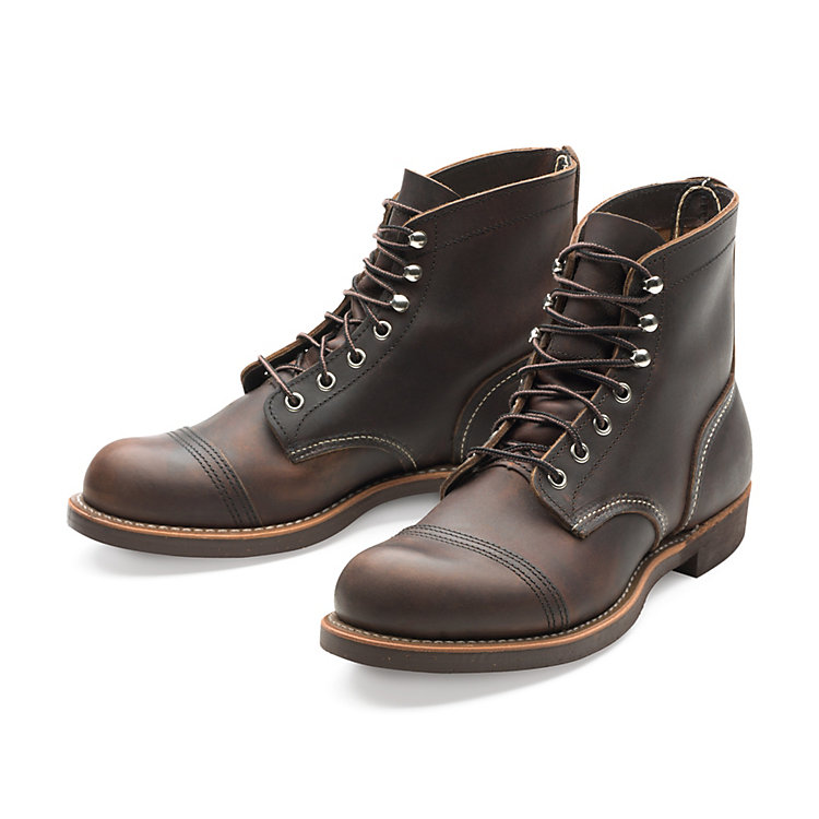 Red Wing Iron Ranger, Braun
