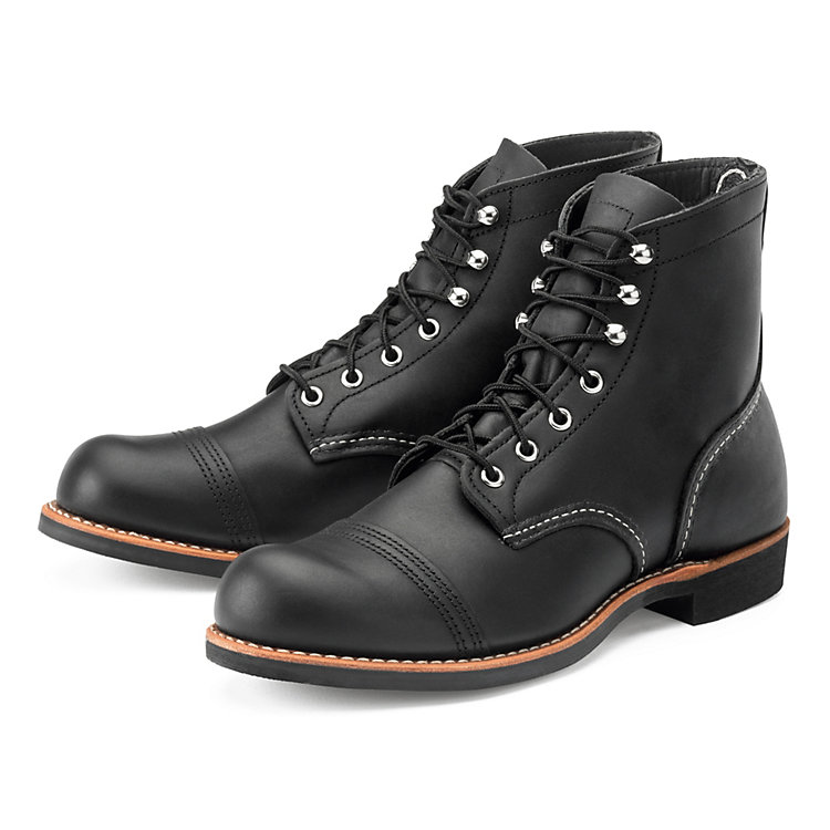 Red Wing Iron Ranger Herren Schwarz