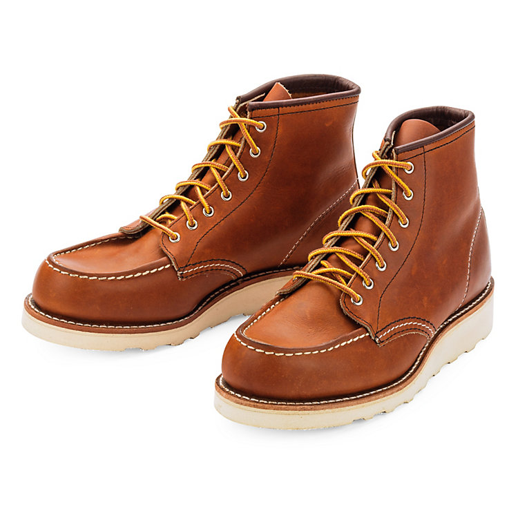 Red Wing Moc Boot Damen Hellbraun
