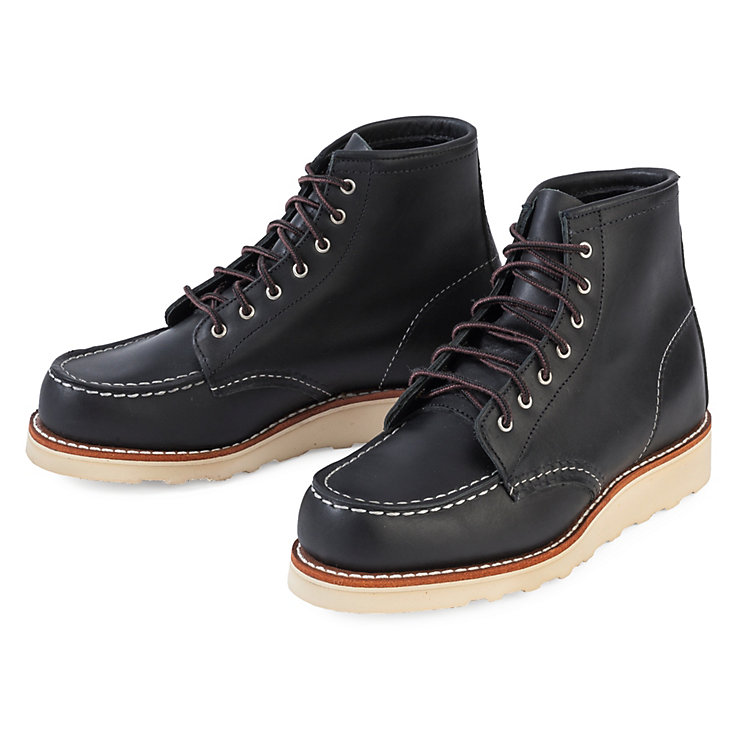 Red Wing Moc Boot Damen Schwarz
