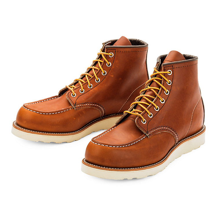 Red Wing Moc Boot Herren Hellbraun