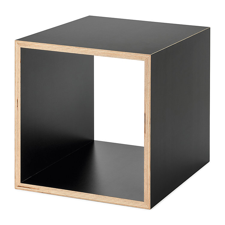 regalsystem echobox kubus schwarz magazin. Black Bedroom Furniture Sets. Home Design Ideas