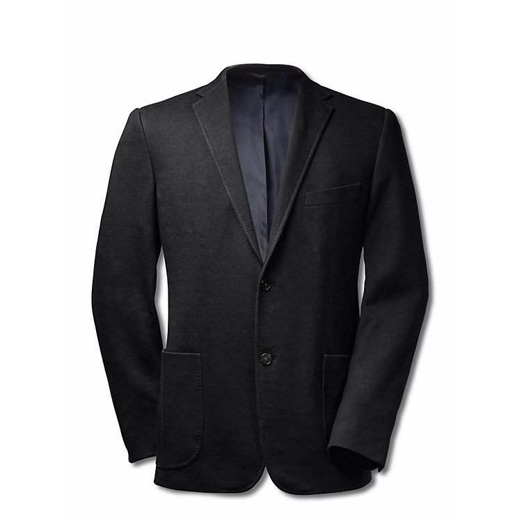 Regent Men's Cotton Jacket Black/Blue