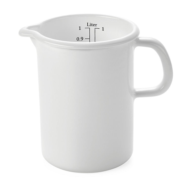 Riess Enamel Measuring Jug