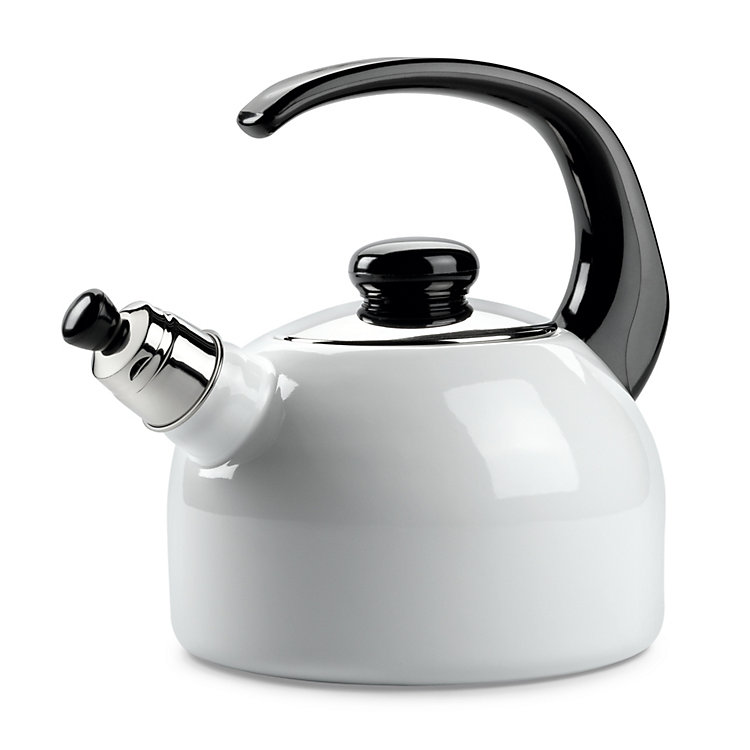 Riess Enamel Whistling Kettle