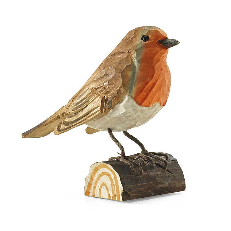 Robin Hand-Carved from Lime Wood