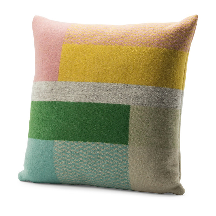 Røros Bauhaus-Style Lambswool Cushion Cover