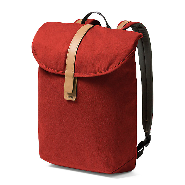 Rucksack Slim Backpack Rot