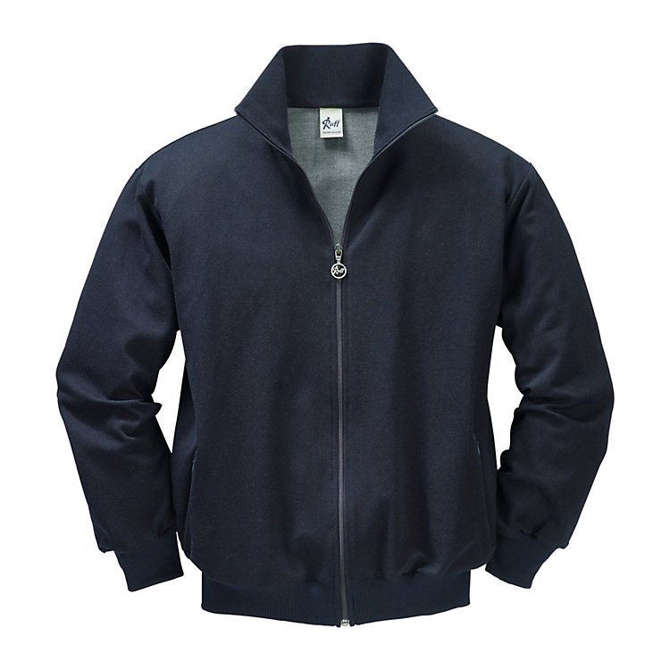 Ruff Cotton Silk Training Jacket Dark blue