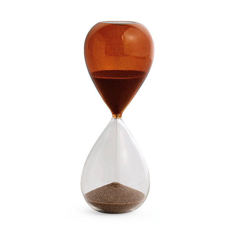 Sanduhr Time 15 Minutes orange Orange