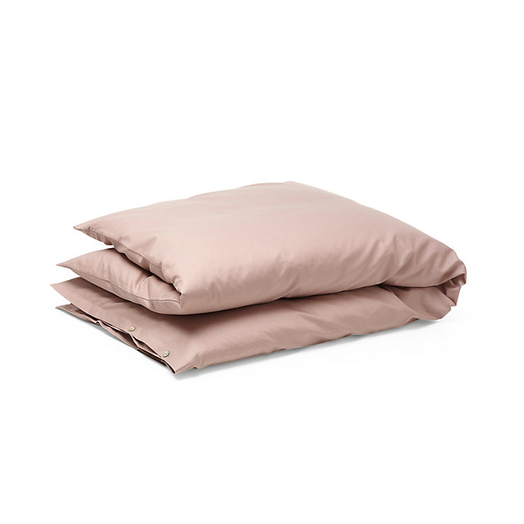 Satin Duvet Cover, Rosé