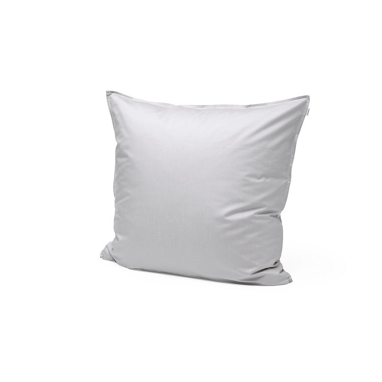 Satin Pillow Case, Light Grey