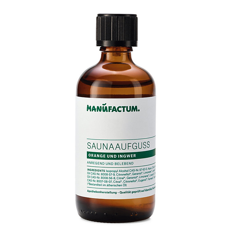 Sauna Infusion by Manufactum, Orange-Ginger