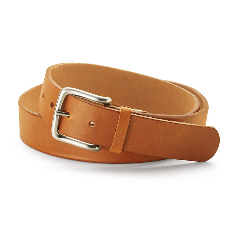 Schröder Men's Harness Leather Belt Nature