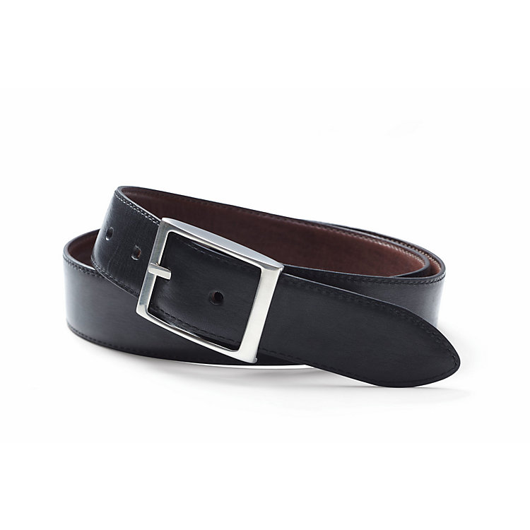 Schröder reversible cow hide belt Brown and Black