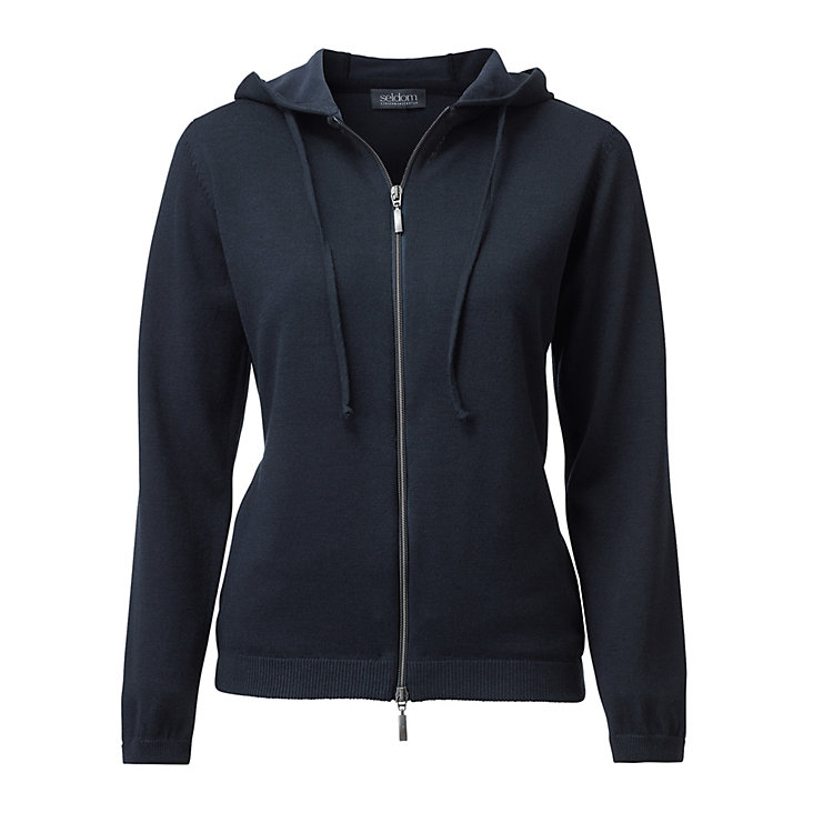 Seldom Women's Casual Jacket Dark blue