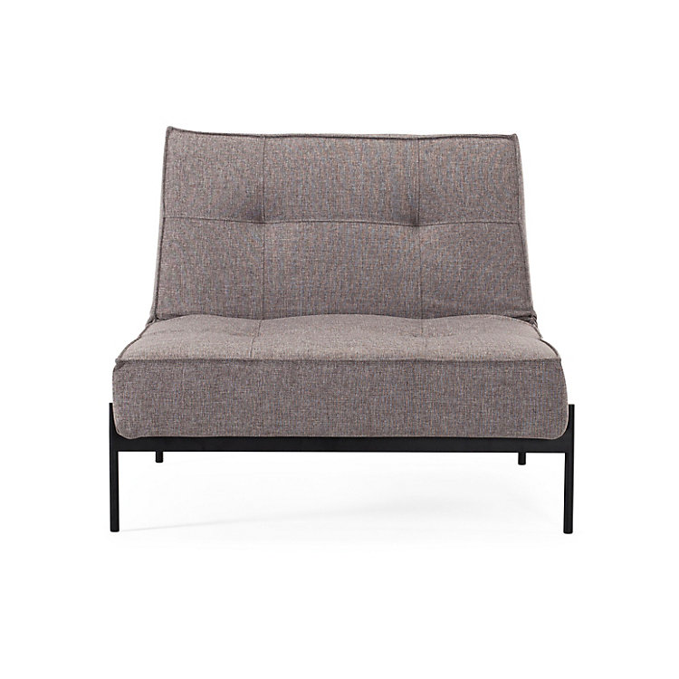 Sessel Splitback Lounge Grau