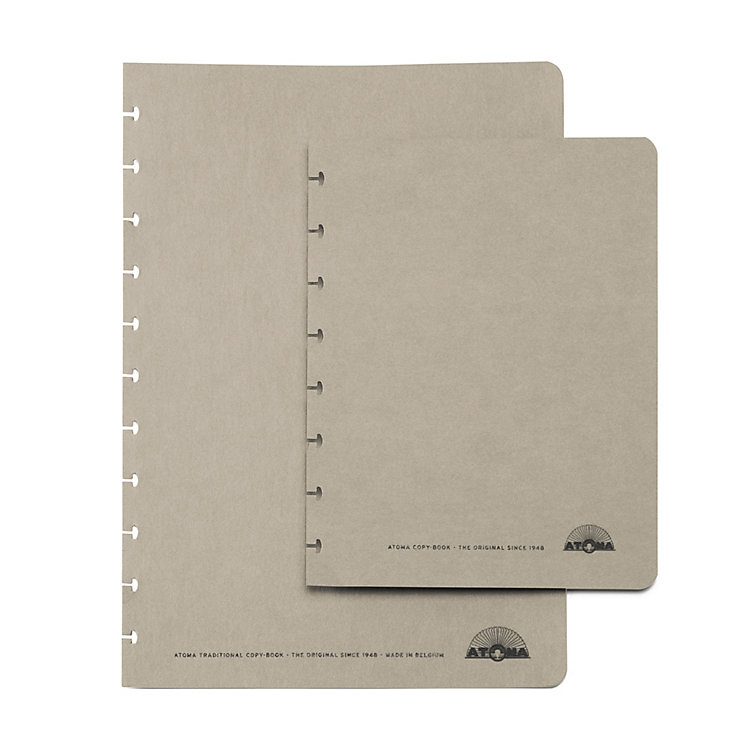 Set of A4 Texon Covers Grey