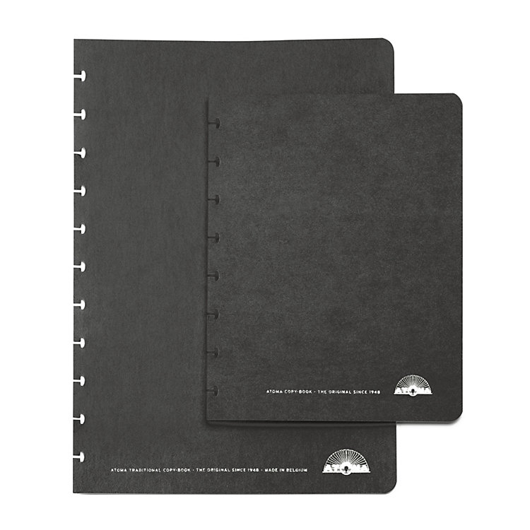 Set of A4 Texon Covers Black