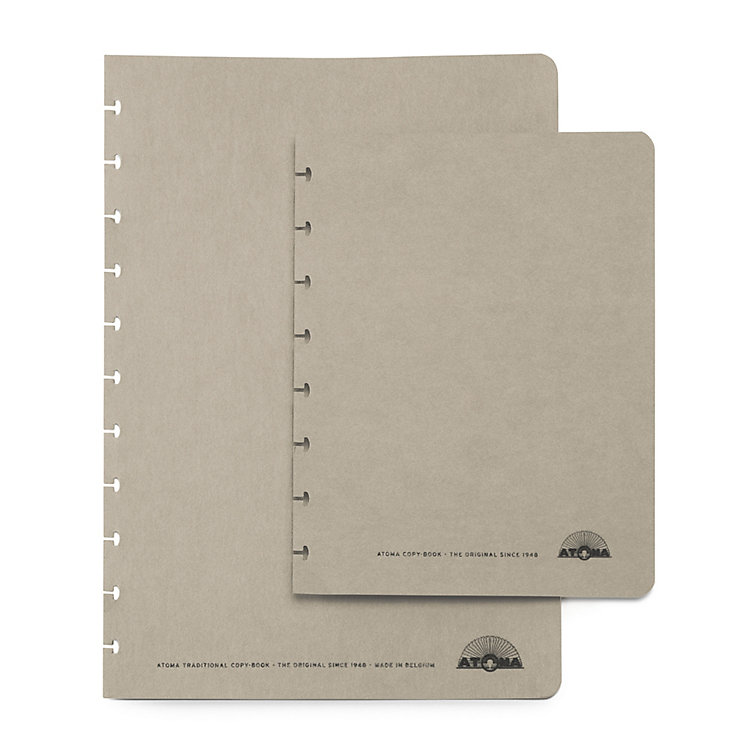 Set of A5 Texon Covers Grey