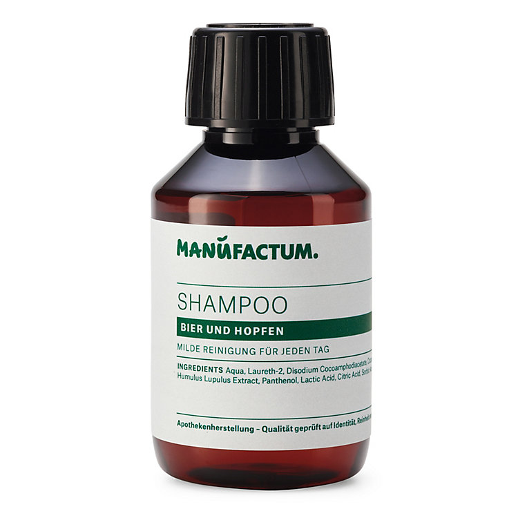 Shampoo by Manufactum, Beer and Hop Extracts