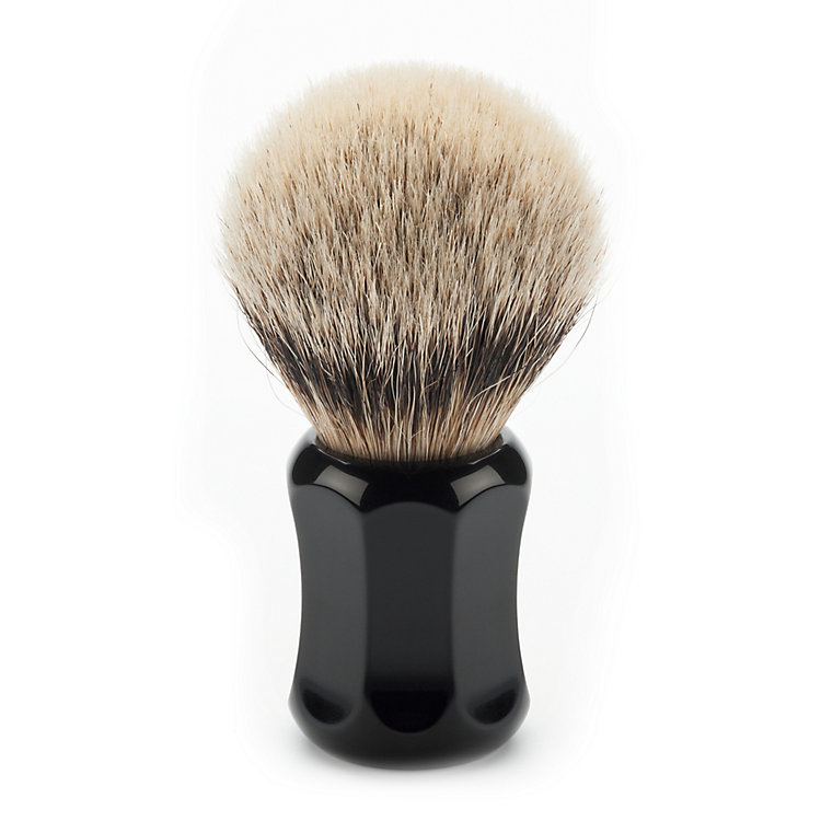 Shaving brush, badger hair Small