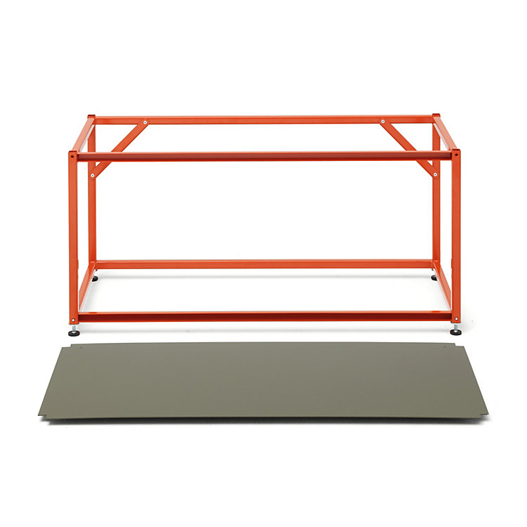Shelf Element TARA Red Orange RAL 2001