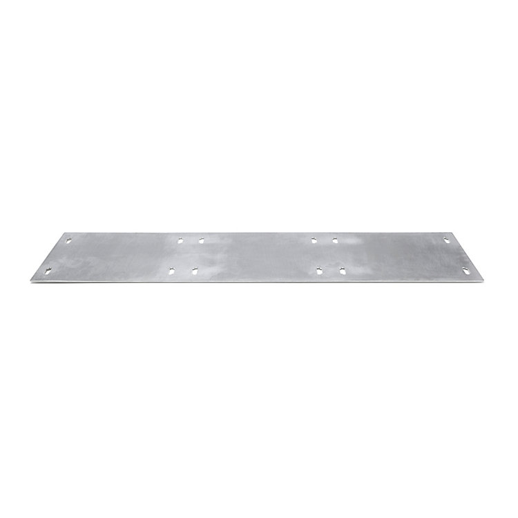 Shelf System BOUNCE Base Plate Triple Width Aluminium untreated
