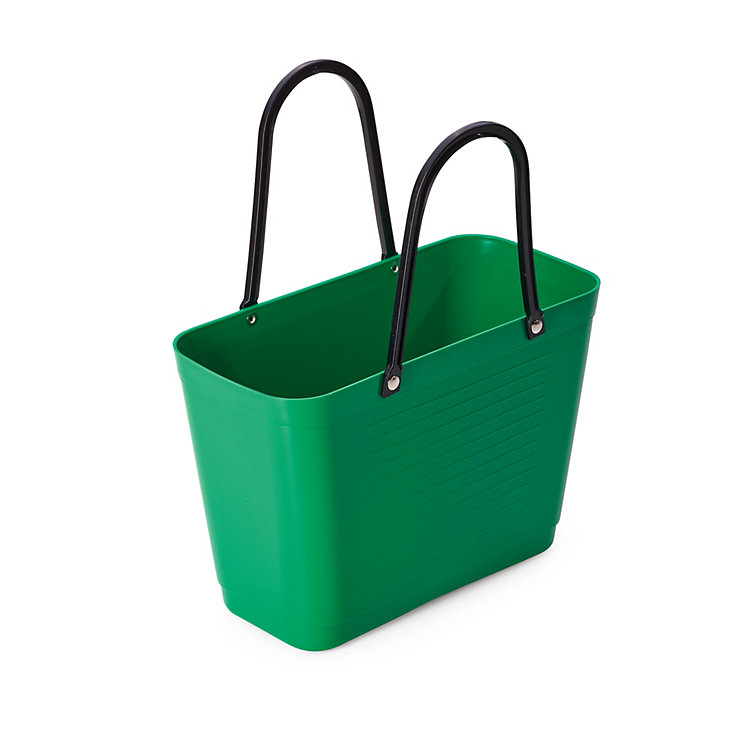 Shopping Basket Bioplastics 7.5-litre capacity Green