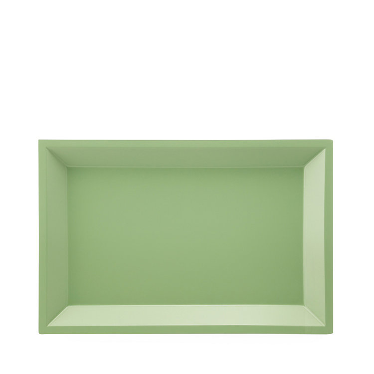Side Table Modular Tray Square Small Green