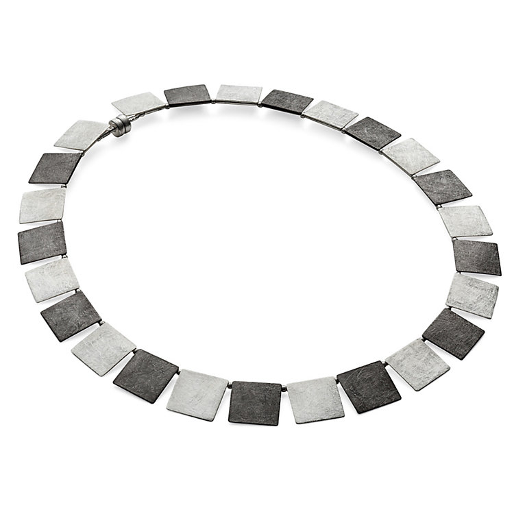 Silver Ruthenium Necklace