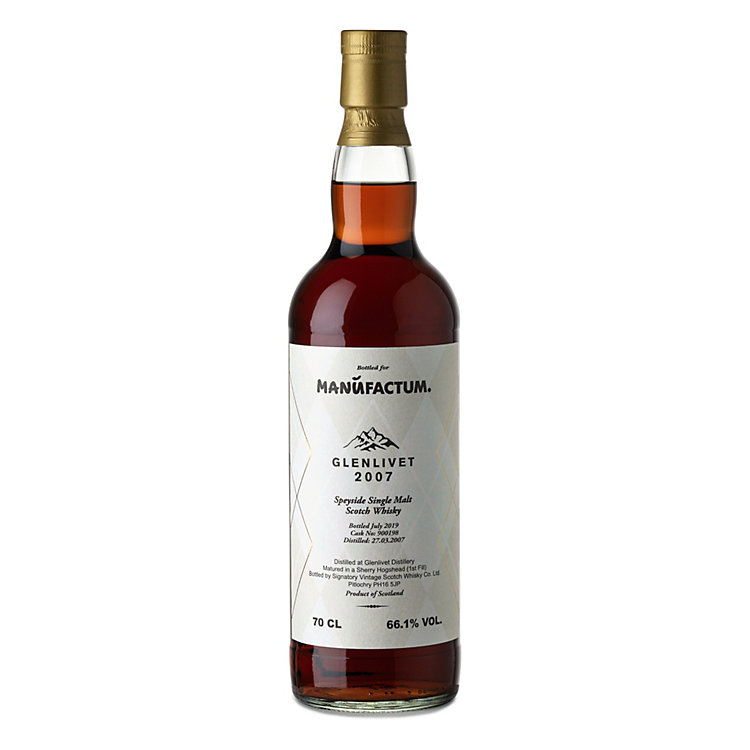 Single Malt Whisky Glenlivet 2007