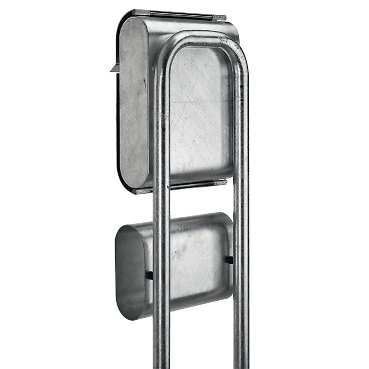 Small Galvanised Steel Letter Box Stand