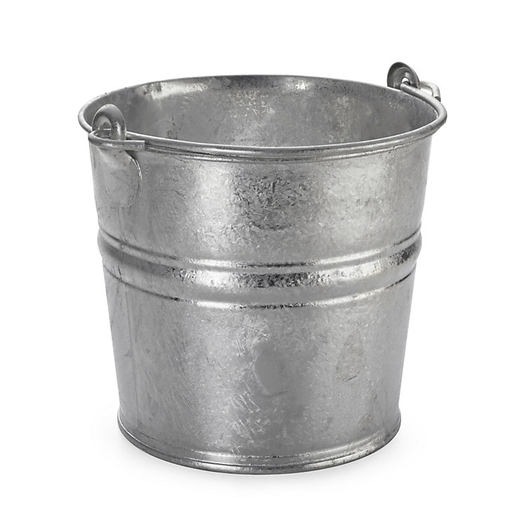 Small Galvanized Bucket