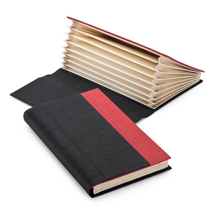 Small Linen Compartment Folder
