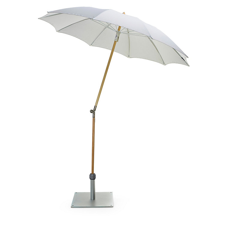 Small Parasol Made of Ash Wood Natural coloured