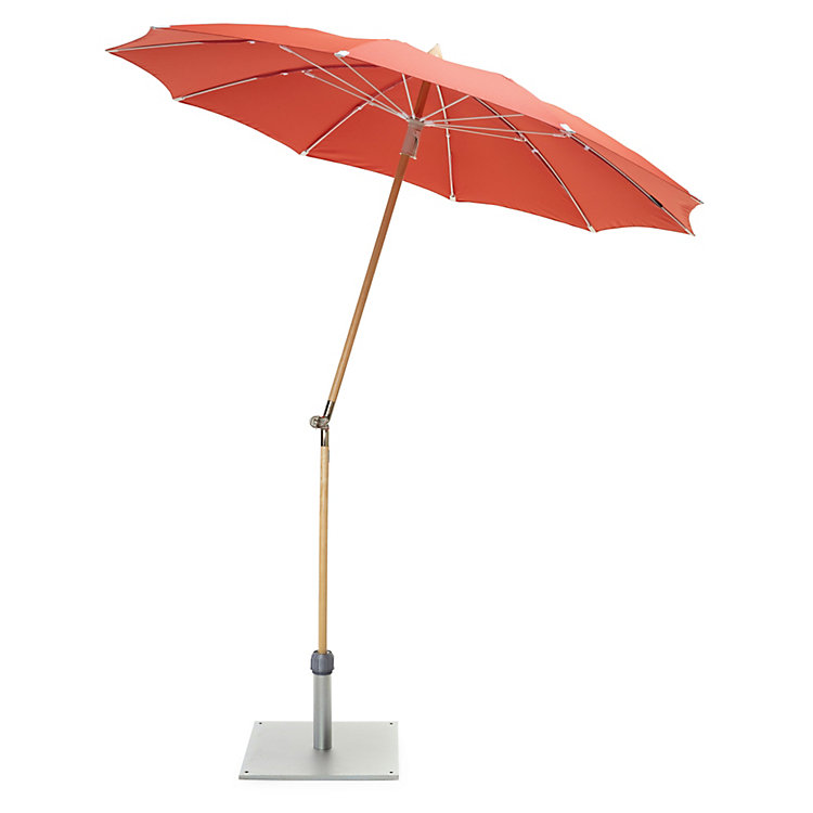 Small Parasol Made of Ash Wood Terracotta