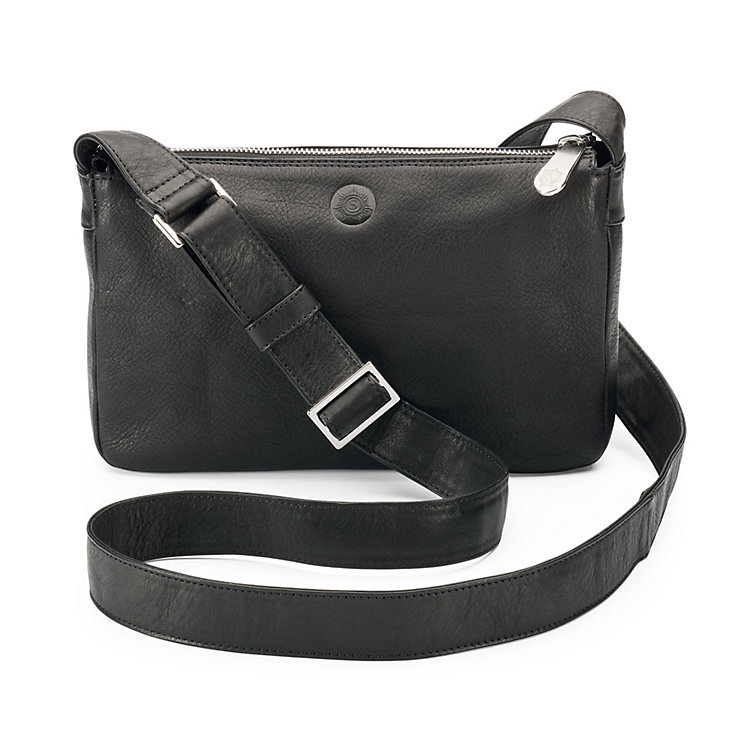 Small Sonnenleder Shoulder Bag, Black