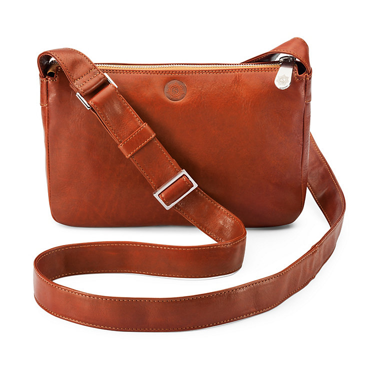 Small Sonnenleder Shoulder Bag, Nature